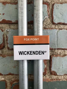 Wickenden St. Fox Point Providence Rhode Island Magnet - Ree+Dot