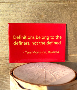 Toni Morrison Beloved Quote