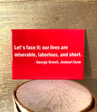 George Orwell Animal Farm Quote