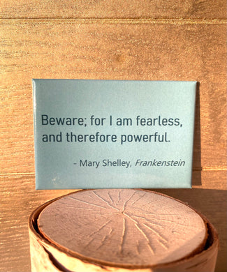 Mary Shelley Frankenstein Quote