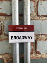 Broadway Federal Hill Providence Rhode Island Street Sign Magnet - Ree+Dot