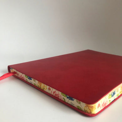 Artisan Leatherette Journal (Red)