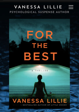 For the Best by Rhode Island Author, Vanessa Lillie • SIGNED COPIES AVAILABLE