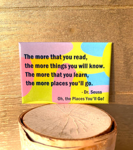 Dr Seuss Quote from Oh, the Places You'll Go!