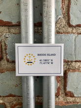 Rhode Island Geographical Coordinates Magnet - Ree+Dot