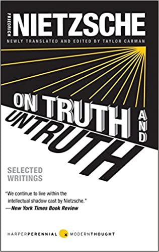 On Truth and Untruth: Selected Writings (Harper Perennial Modern Thought), by Friedrich Nietzsche