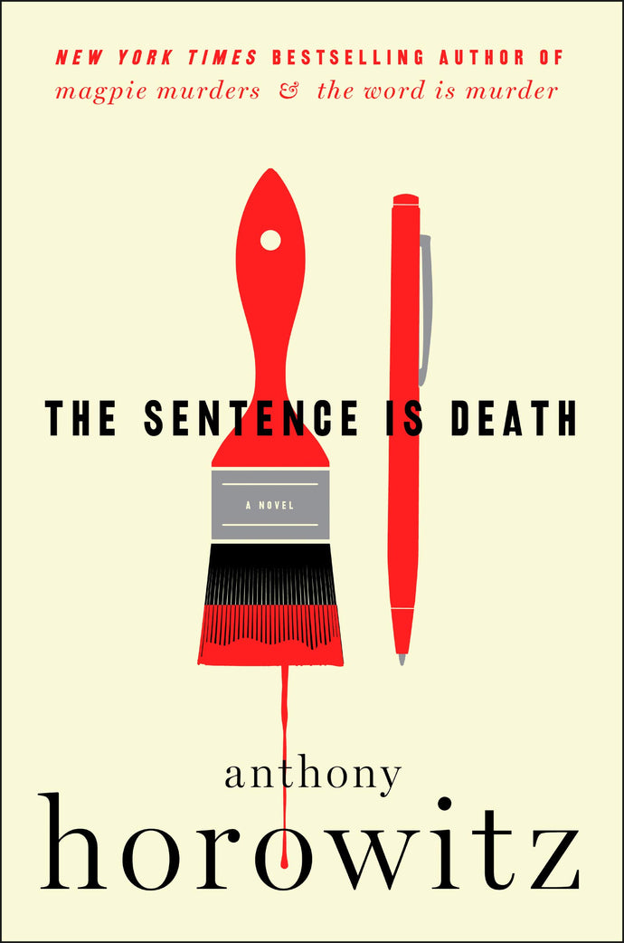The Sentence is Death, by Anthony Horowitz