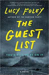 JUNE BOOK CLUB: The Guest List, by Lucy Foley