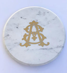 Marble Lazy Susan - Personalized