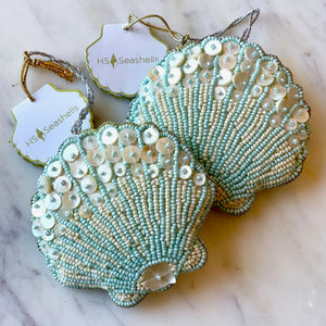 Beaded Coastal Ornaments