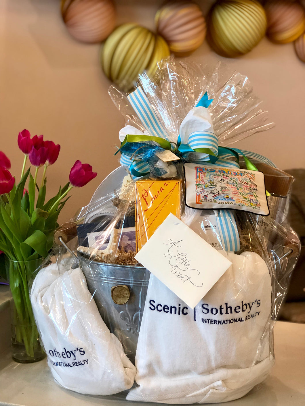 Gift Basket - New Home, Beach House, Realtor Closing Gift