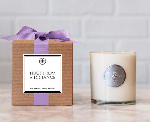 Hugs From a Distance Candle