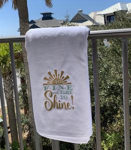 Custom Design Towels