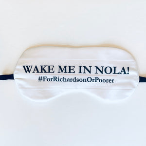 Set of Four Personalized Eye Mask