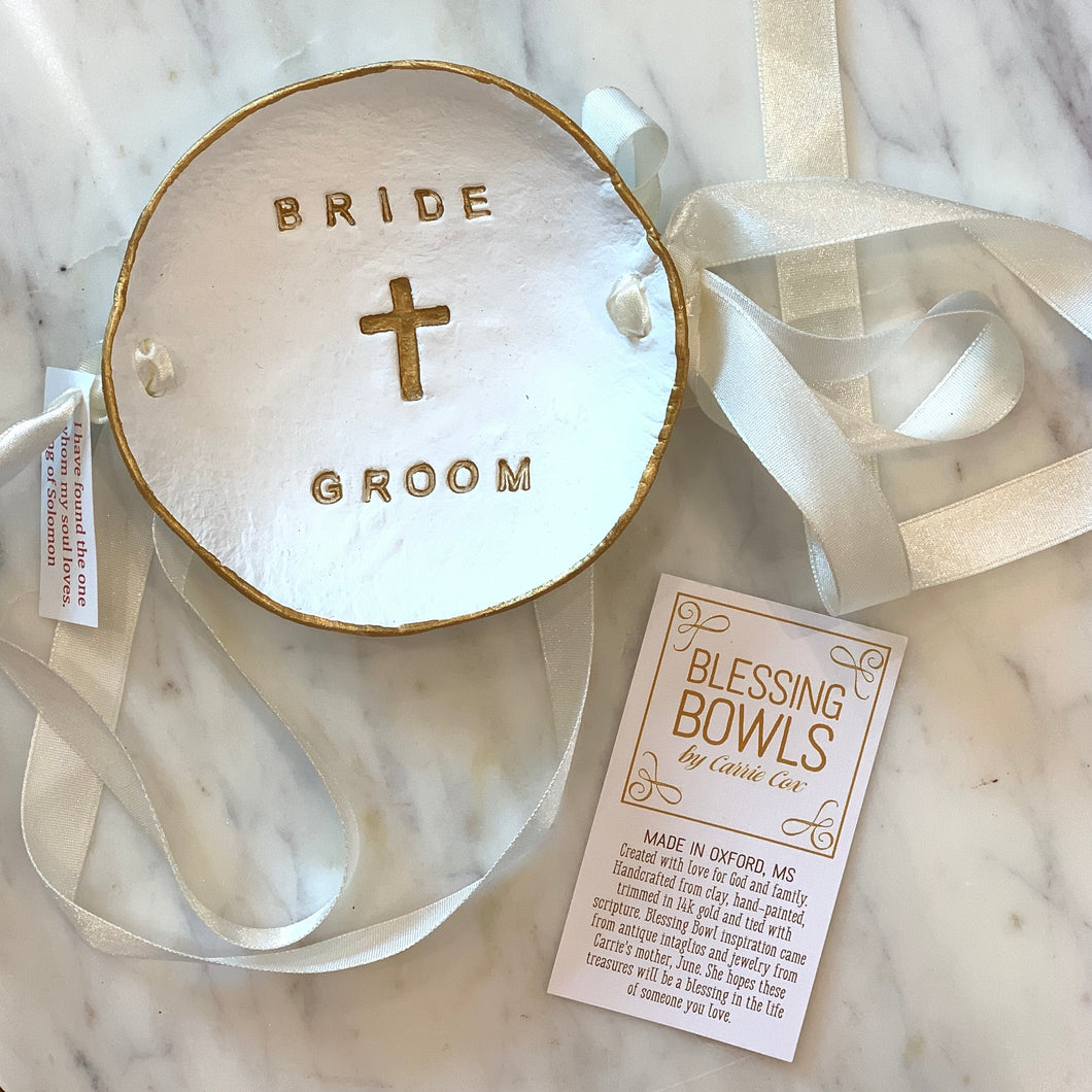 Personalized Wedding Blessing Bowls