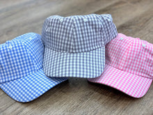 Gingham Baseball Hat / Cap
