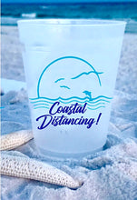 Coastal Distancing Shatterproof Cups, 16oz