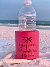 30th Birthday Bash with Palm Tree Foam Koozies