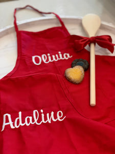 Darling Woven Children's Apron
