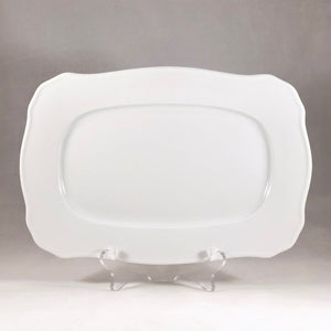 Porcelain Rectangular Scrolled Platter