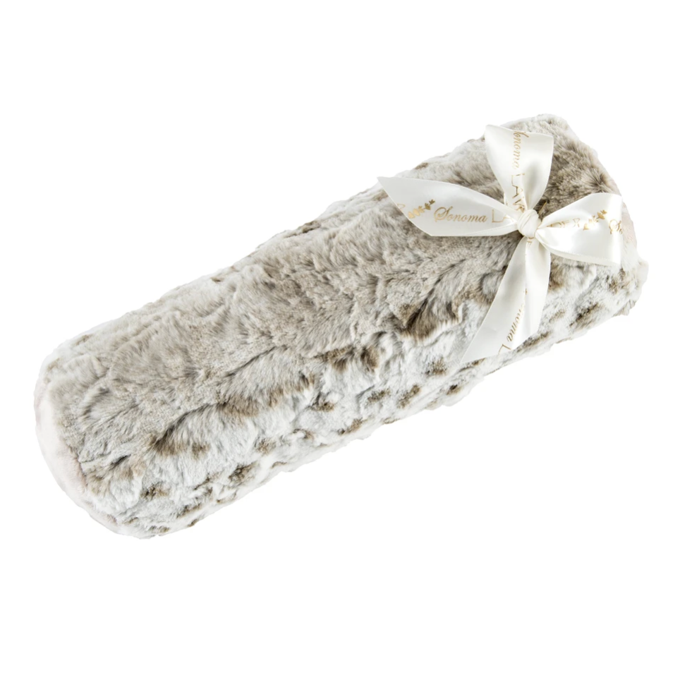 Lavender Spa Heated Bolster Roll