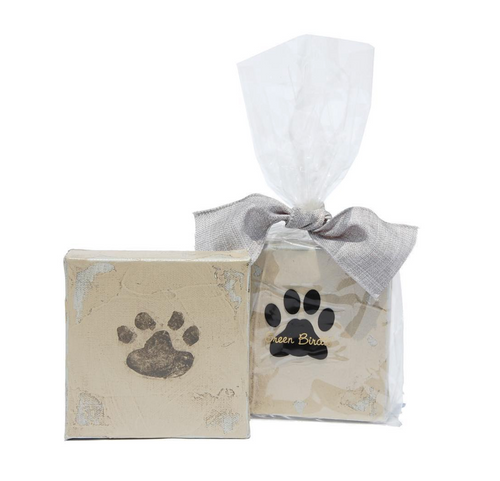 Pet Paw Print Canvas Art Kit