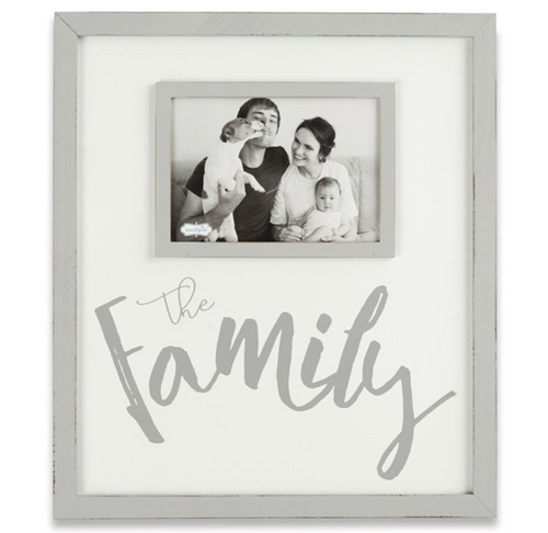 The Family Gray - Washed Picture Frame