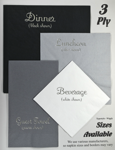 3-Ply Dinner Napkins