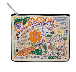 Clemson Game Day Pouch