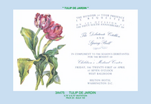 """Tulips De Jardin"" Floral Invitation"