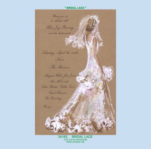 """Bridal Lace"" Invitation"