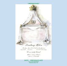 """Precious Place"" Baby Invitation"