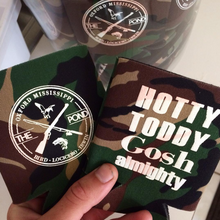 Collapsible Camo Neoprene Koozie