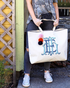 Letter Luggage - Ollie Tote