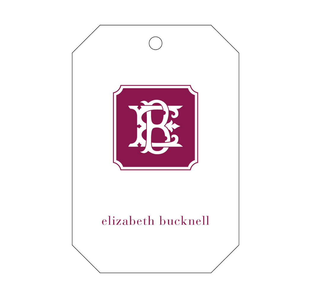 Personalized Gift Tag - T296