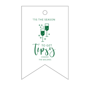 Personalized Holiday Gift Tag - T180