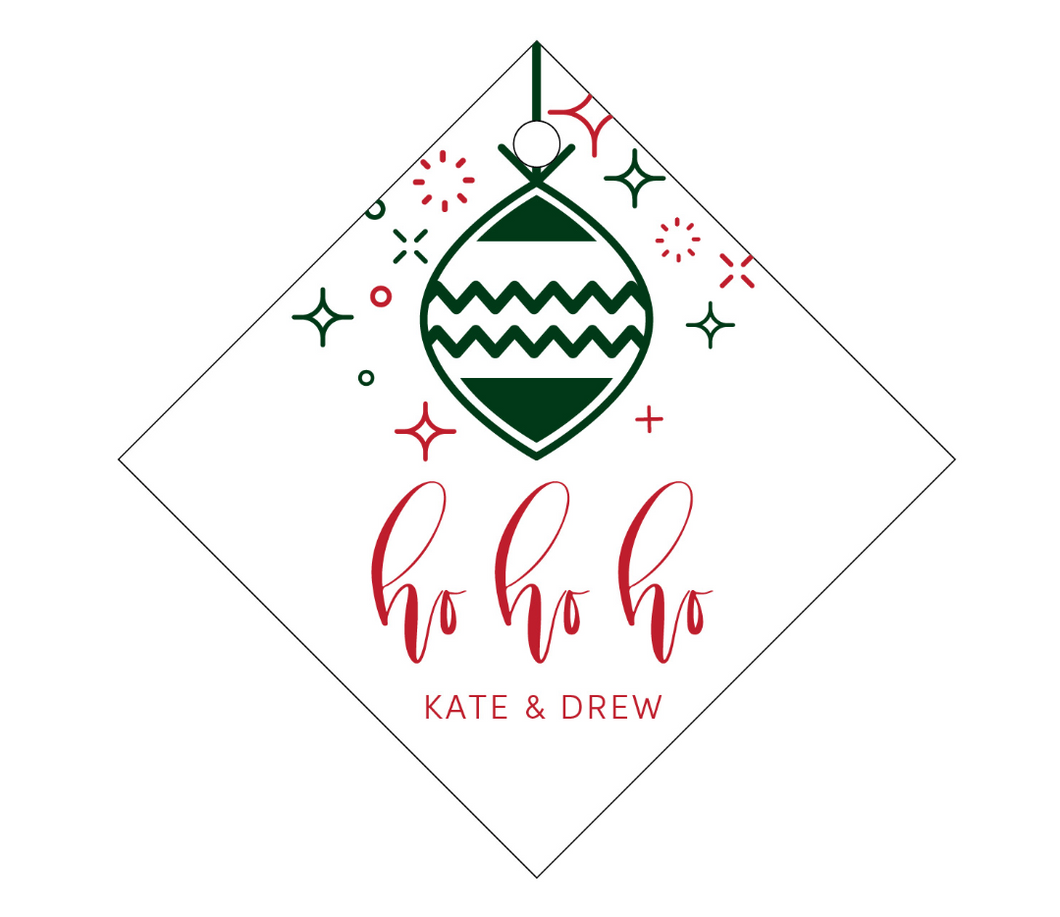 Personalized Holiday Gift Tag - T200