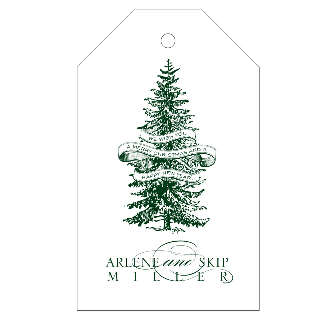 Personalized Holiday Gift Tag - T59