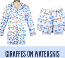 Waterski Giraffe Night Shirt