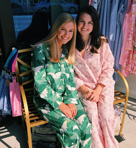 Palm Pajama Set