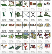 Personalized Putting Green Mat