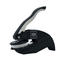 Baldwin Family Initial Round Self-Inking Stamper or Embosser