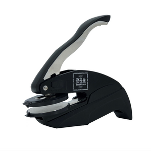 Jacobson Family Name Round Self-Inking Stamper or Embosser