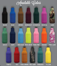 Neoprene Solid Color Bottle Buddies