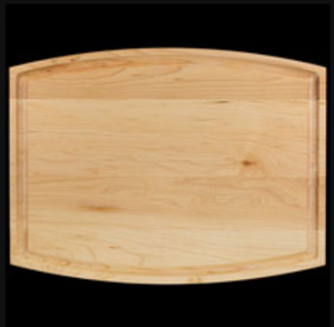 "12 "" x 9 "" Groove Hardwood Serving Board"