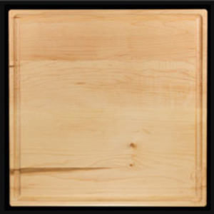 "Square Hardwood Serving Board 12"" x 12"""