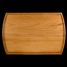 "Groove Hardwood Serving Board 16"" x 10.5"""