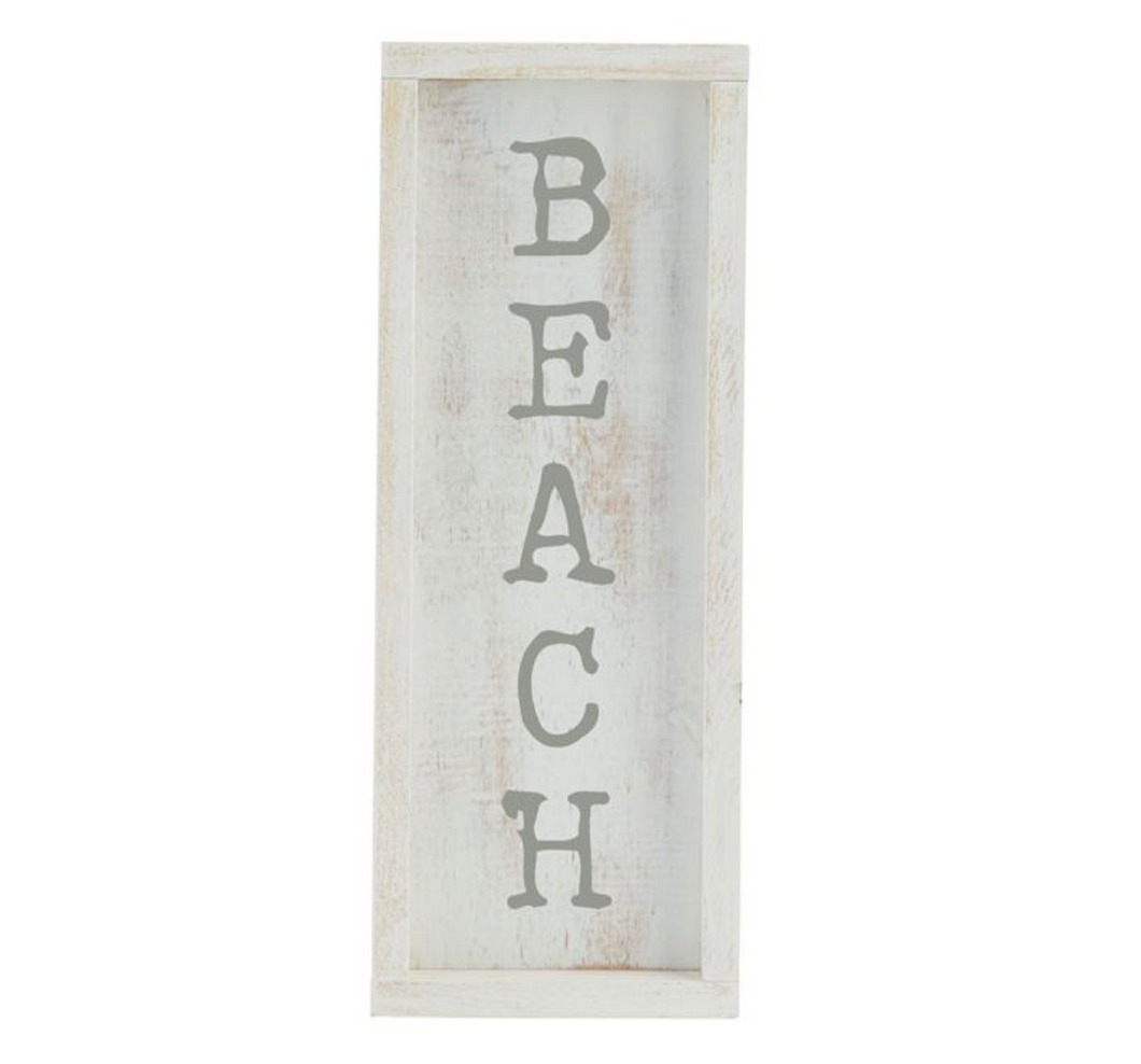 Beach Wooden Wall Plaque