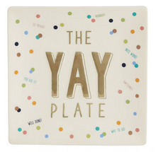 """Yay"" Plate"