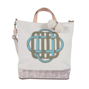 Letter Luggage - Ben Day Tote